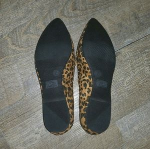Time and Tru Shoes - NWT Time and Tru Leopard Cheetah Slip On Loafers 7